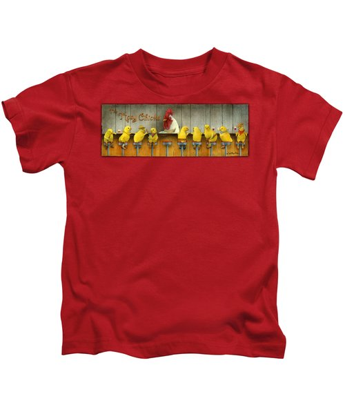 Tipsy Chicks... Kids T-Shirt