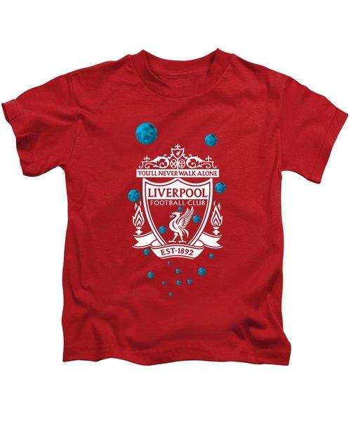 Tribute To Liverpool 4 Kids T-Shirt
