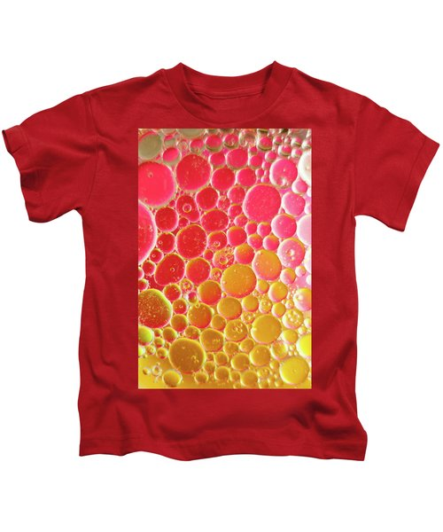 Water And Oil Bubbles Kids T-Shirt
