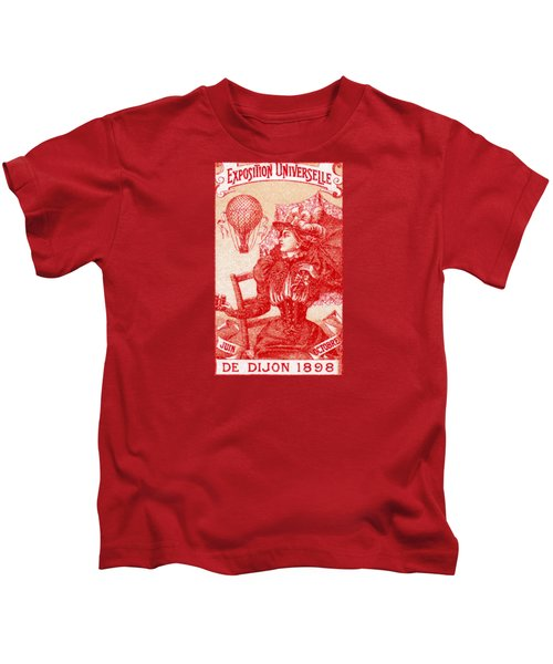 1898 Dijon France International Expo Kids T-Shirt