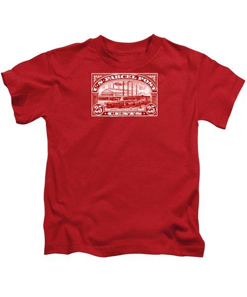 1912 Manufacturing Stamp Kids T-Shirt