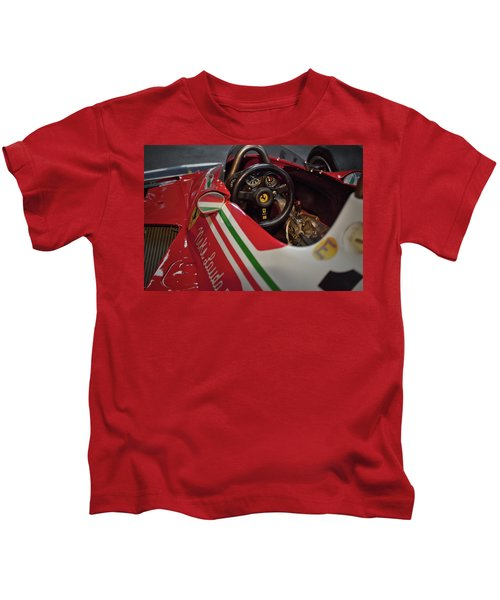 Number 11 By Niki Lauda #print Kids T-Shirt