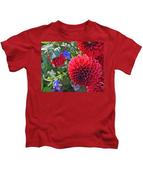 2015 Mid September At The Garden Dahlias 2 Kids T-Shirt