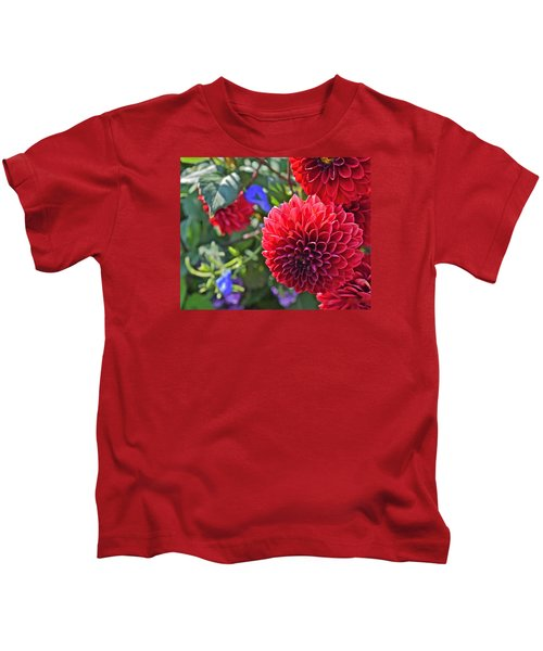 2015 Mid September At The Garden Dahlias 2 Kids T-Shirt