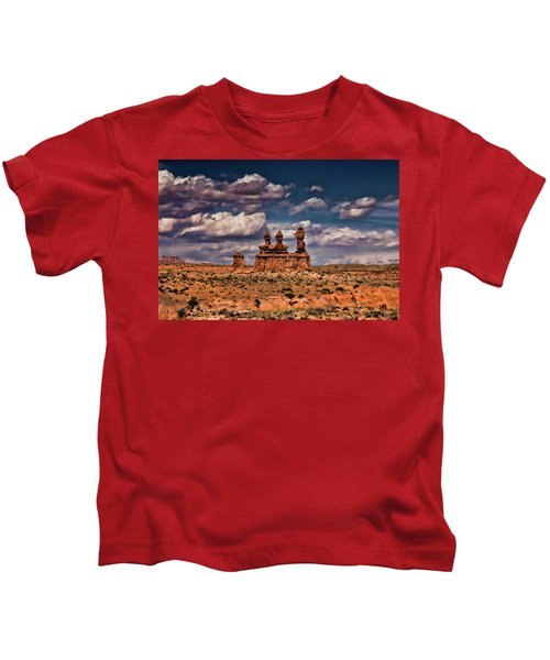 Goblin Valley Kids T-Shirt