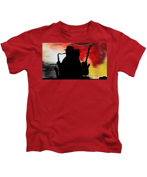 Bruce Springsteen Clarence Clemons Kids T-Shirt