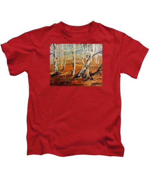 #38 Last Leaves Kids T-Shirt