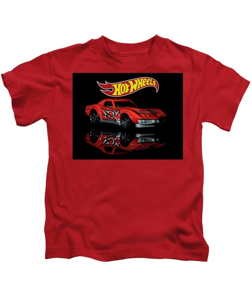 '69 Chevy Corvette-2 Kids T-Shirt