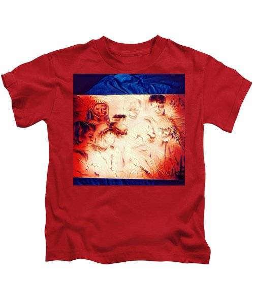 In Heaven With Jesus Kids T-Shirt