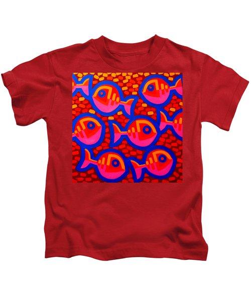 8 Fish Aswim Kids T-Shirt