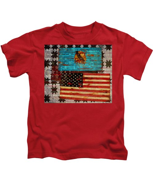 A Good Day In The Usa Kids T-Shirt