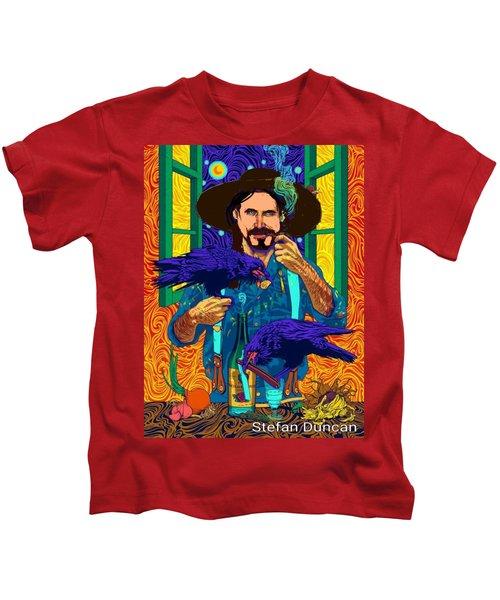 A Life A Of Caw. Portrait Of Stefan Kids T-Shirt