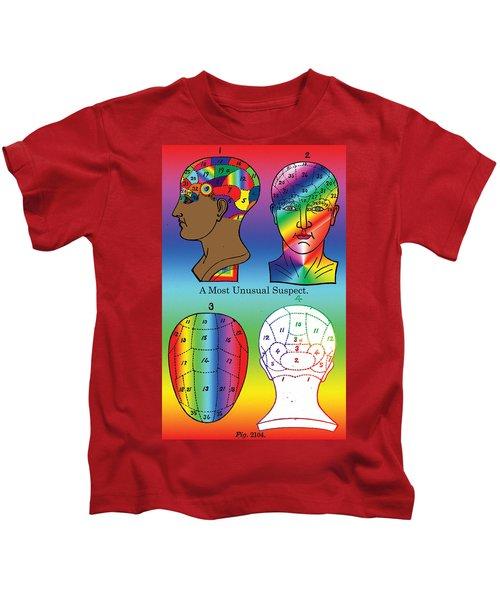 A Most Unusual Suspect Kids T-Shirt