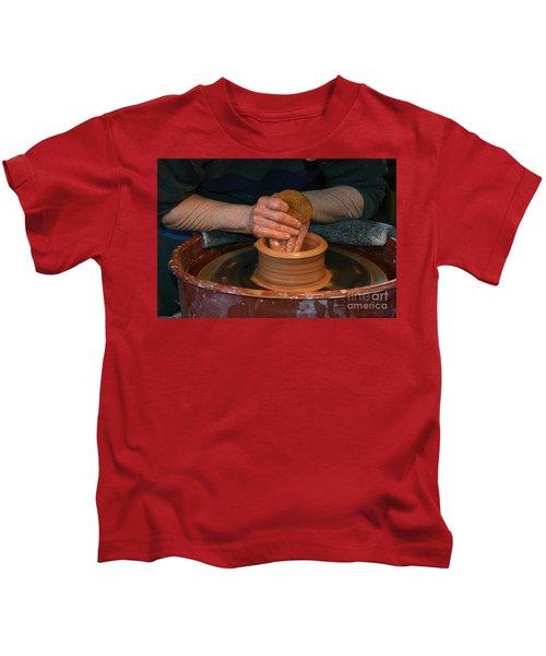 A Potter's Hands Kids T-Shirt