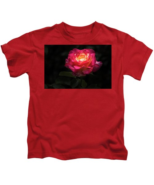 A Rose For Love Kids T-Shirt