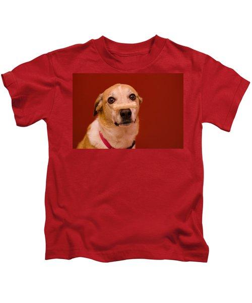 Abbie And A Bone Kids T-Shirt