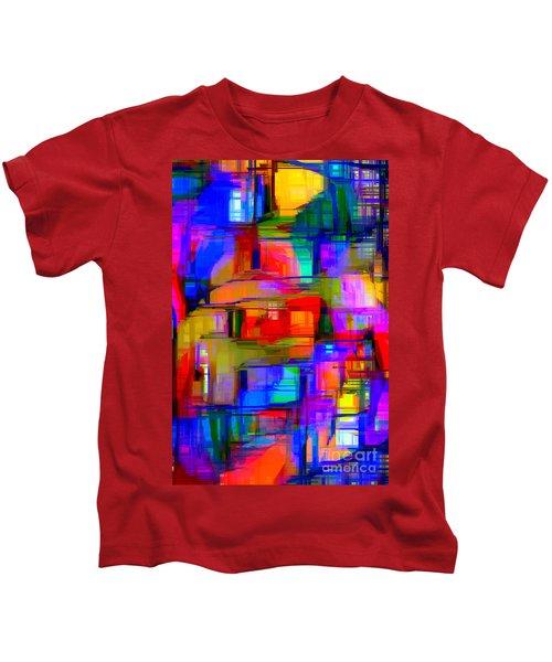 Abstract 1293 Kids T-Shirt