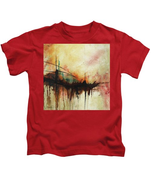 Abstract Painting Contemporary Art Kids T-Shirt