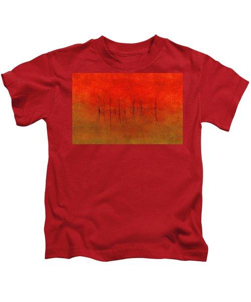 Abstract Sunset  Kids T-Shirt