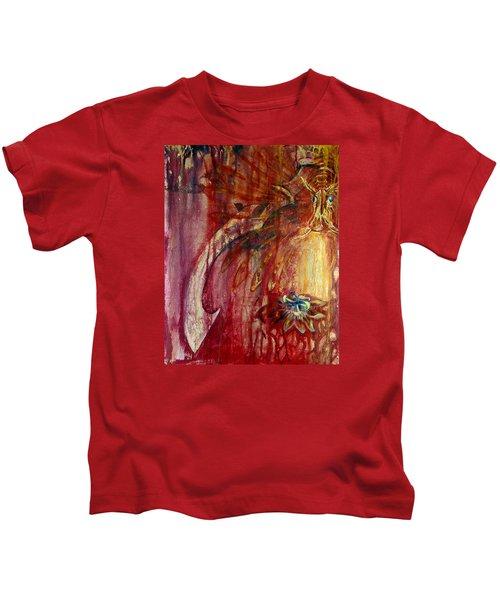 Ace Of Swords Kids T-Shirt