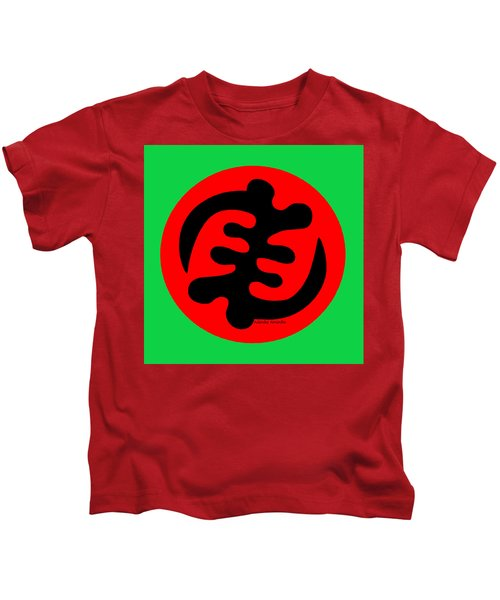 Adinkra Symbol Gye Nyame Except God Only God Kids T-Shirt