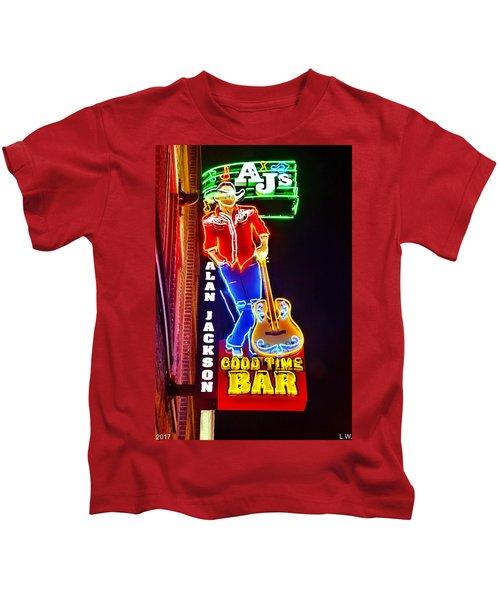 Aj's Good Time Bar Kids T-Shirt