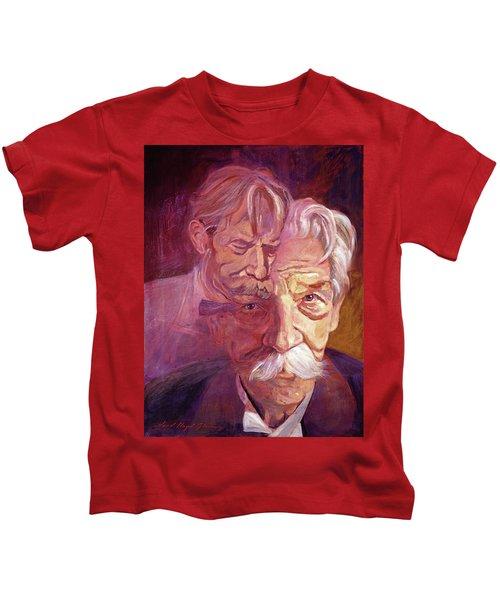 Albert Schweitzer Portrait Kids T-Shirt