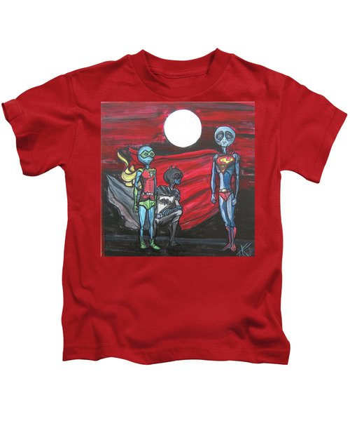 Alien Superheros Kids T-Shirt