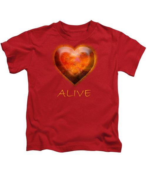 Fire Of Your Heart Kids T-Shirt