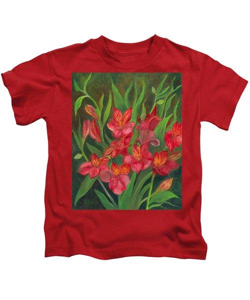 Alstroemeria Kids T-Shirt