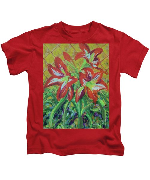 Amaryllis Kids T-Shirt