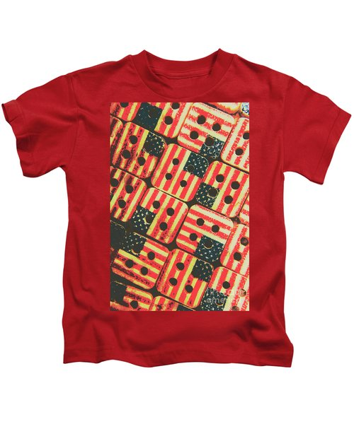 American Quilting Background Kids T-Shirt