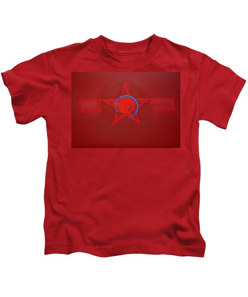 American Sky Blue Kids T-Shirt