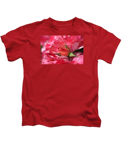 Amongst The Rose Petals Kids T-Shirt