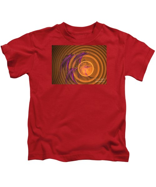 An Echo From The Past - Abstract Art Kids T-Shirt