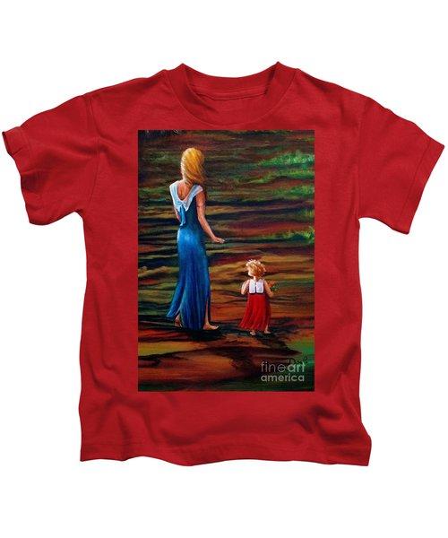 An Evening Walk Kids T-Shirt