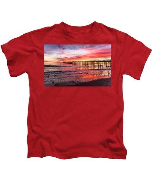 Seacliff Sunset Kids T-Shirt