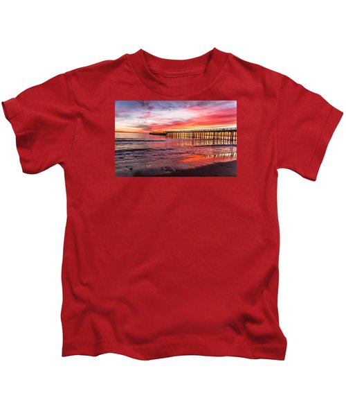 Seacliff Sunset Kids T-Shirt