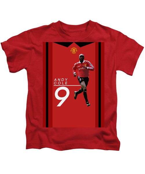 Andy Cole Kids T-Shirt