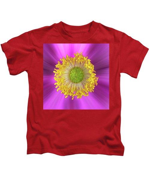 Anemone Hupehensis 'hadspen Kids T-Shirt