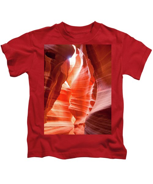 Antelope Canyon 2 Kids T-Shirt