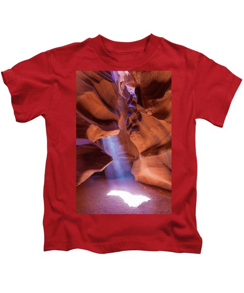 Antelope Lightshaft I Kids T-Shirt