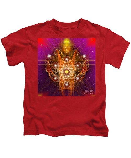 Archangel Metatron Kids T-Shirt