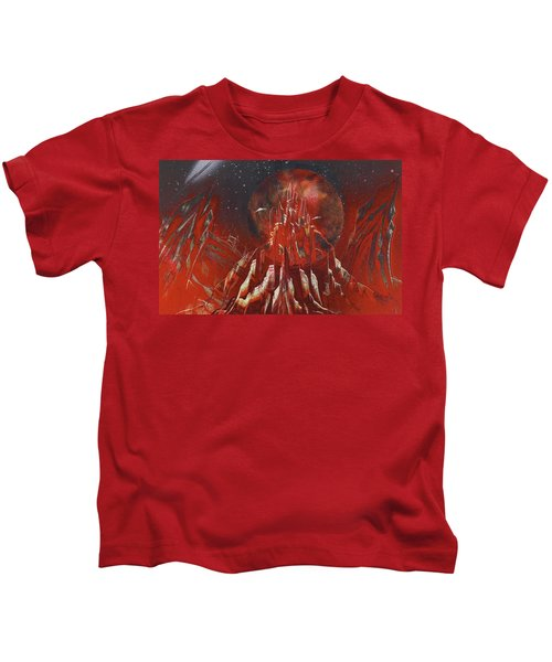 Arrival At Red Hill Kids T-Shirt
