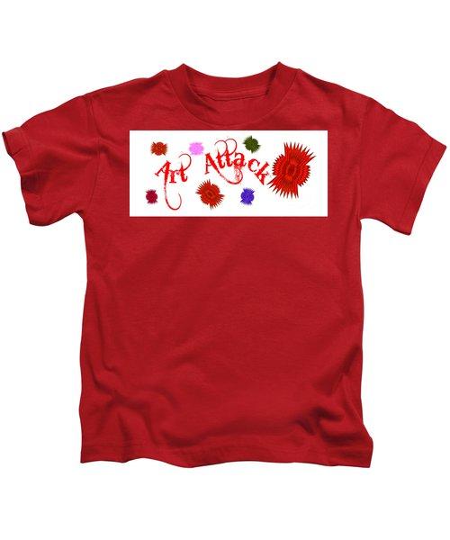 Art Attack  Kids T-Shirt