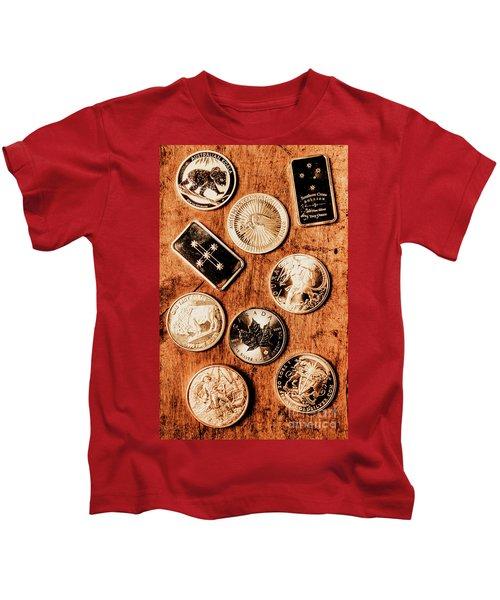 Art Of A Sliver Collector Kids T-Shirt