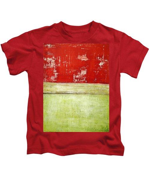 Art Print Rotgelb Kids T-Shirt