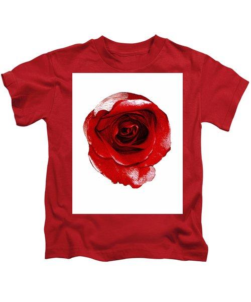 Artpaintedredrose Kids T-Shirt