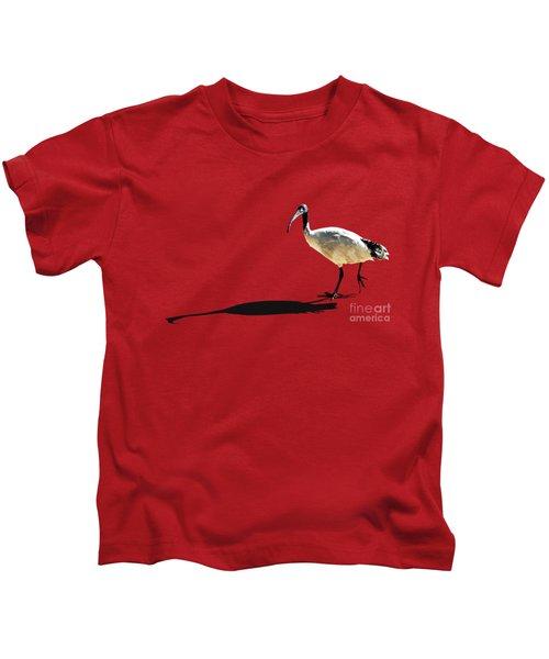 Bribie Island Ibis Kids T-Shirt by Susan Vineyard