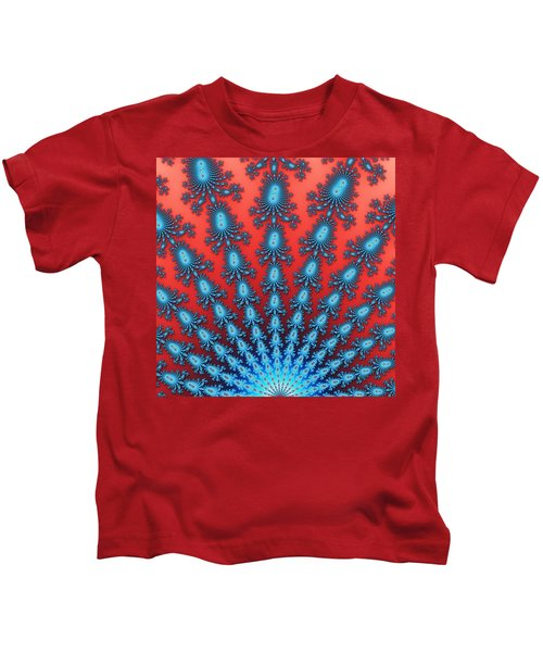 Fractal Starburst Kids T-Shirt